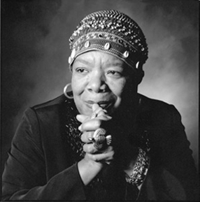 Maya Angelou, born Marguerite Annie Johnson, April 4, 1928 – May 28, 2014)